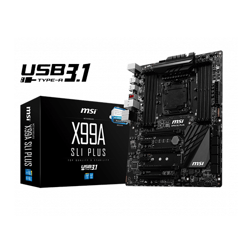 MSI X99A Sli Plus Motherboard