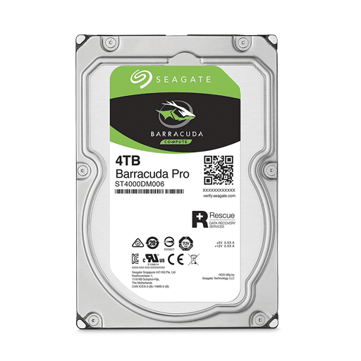 Seagate Barracuda 4TB HDD