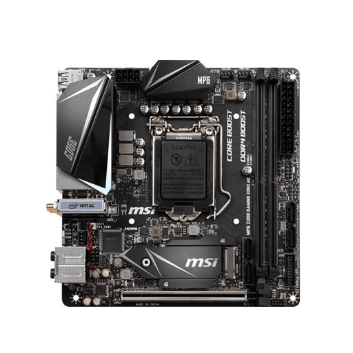 MSI MPG Z390i Gaming motherboard